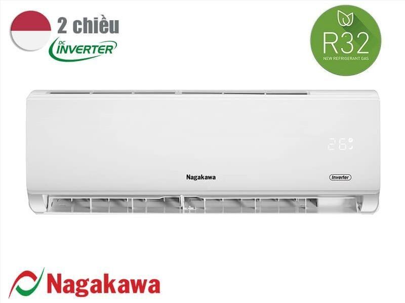 Điều hòa Nagakawa 12000btu 2 chiều inverter NIS - A12R2T01 tiết kiệm điện