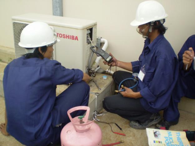 Bảo dưỡng nạp gas điều hòa chuyên nghiệp uy tín ở Hà Nội